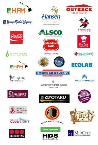Sponsors of 2016 HRA Golf Tournament