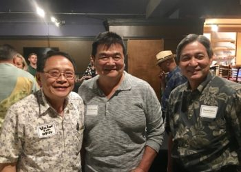 HRA Legislative Committee Chair Victor Lim with Meadow Gold executives.
