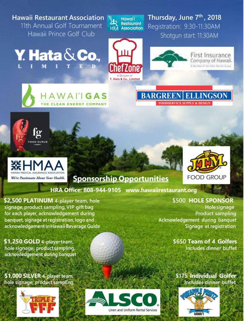2018 Golf Flyer