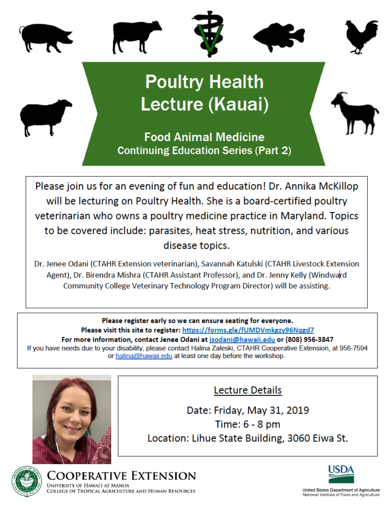 Poultry Health Workshop