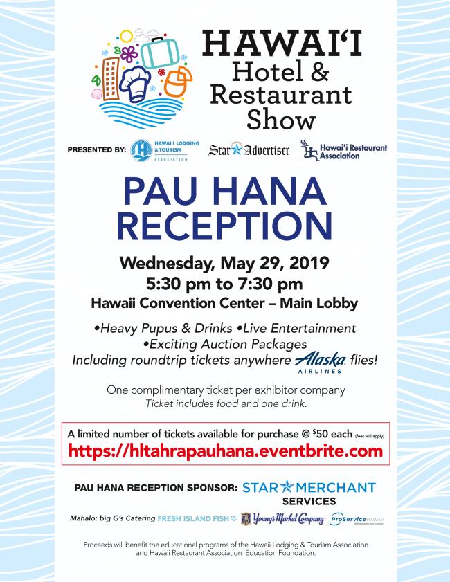 Pau Hana Reception